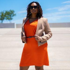 Orange Ralph Lauren Dress